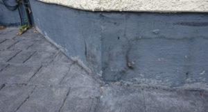 pattern imprinted concrete installation wash off has left a pattern imprinted concrete colour splash